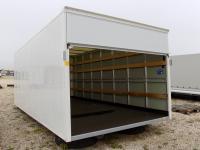 Aluminium doboz felépítmény emelőhátfalhoz kisteherautóra