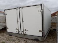 302cm hosszú hűtős doboz felépítmény
