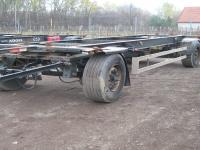 Eladó egy Schwarzmüller cserekeretes pótkocsi