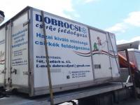 HŰTŐS DOBOZ 3.38M FELÉPÍTMÉNY